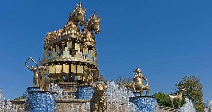 Fountain, Kutaisi, Georgia by Baciu, Shutterstock