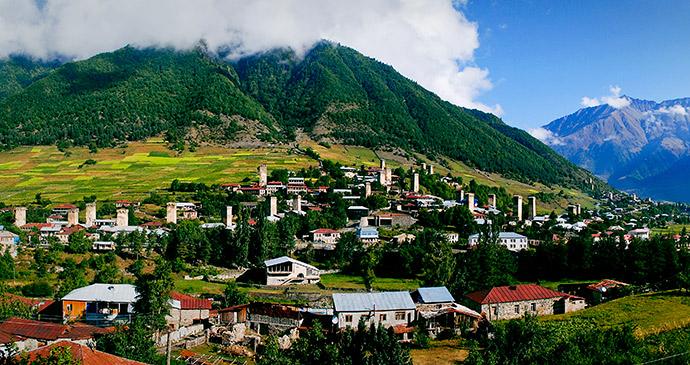 Mestia, Svaneti, Georgia by GeorgiaTravel