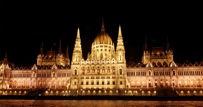 Parliament Budapest Hungary by Laura Pidgley
