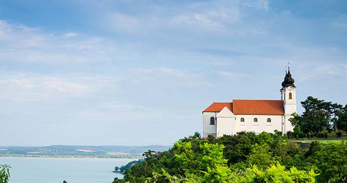 Tihany Abbey Hungary Europe by Klagyivik Viktor Shutterstock