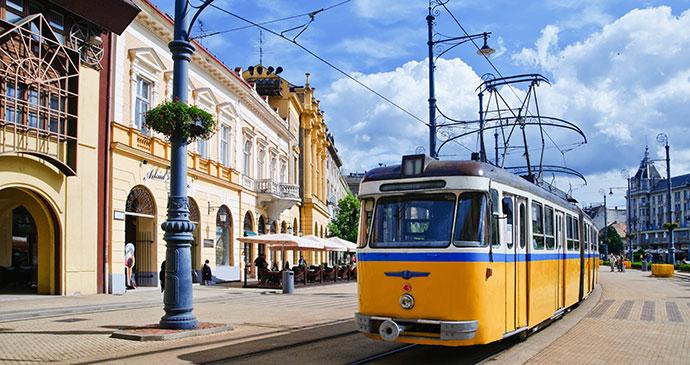 Tram Budapest Hungary Europe by Max Topchii Shutterstock