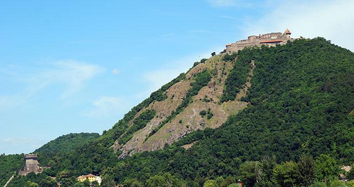 Visegrád Castle Hungary Europe by Attilla JANDI Shutterstock