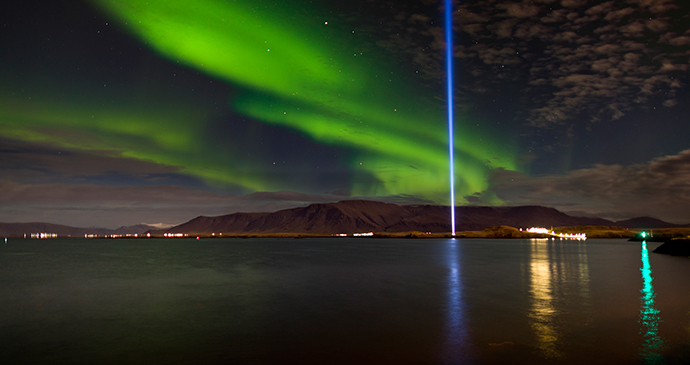 Imagine peace tower, Iceland, Ragnar Th. Sigurdsson, Visit Reykjavik