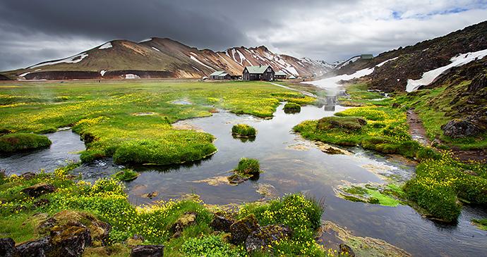Landmannalaugar, Iceland by Marten House, Shutterstock