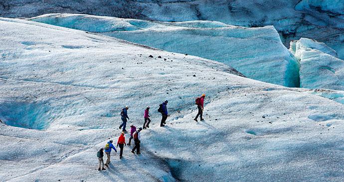 Vatnajökull glacier, Iceland Ollie Taylor, Shutterstock