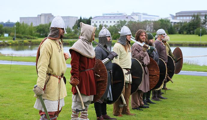 Vikings, Iceland by Ragnar Th. Sigurdsson, Visit Reykjavik