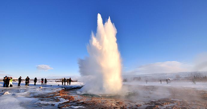 Strokkur, Iceland by Wojtek Chmielewski, Shutterstock