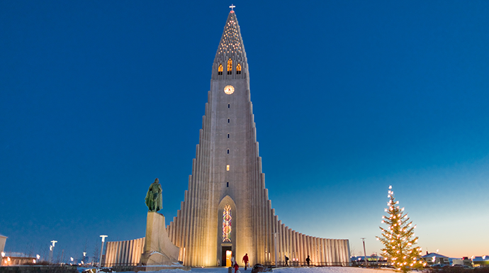 Hallgrimskirkja, Reykjavik, Iceland by VisitIceland world's most unusual buildings