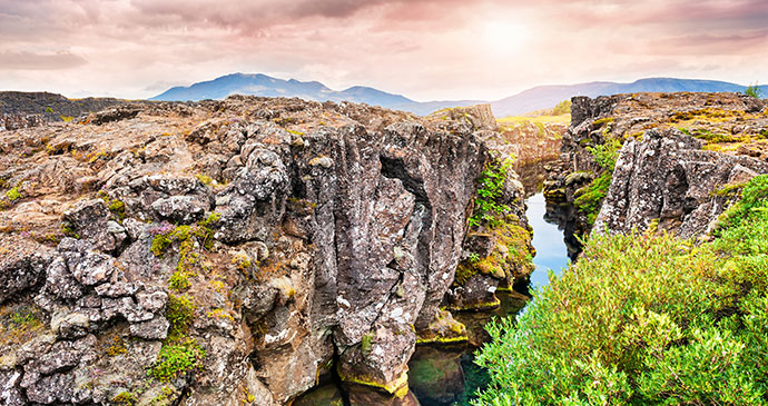 Thingvellir National Park Iceland by Smallredgirl Dreamstime