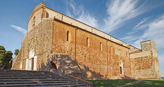 Abbey of San Giovanni in Venere, Fossacesia, Abruzzo, Italy, Ermess, Dreamstime