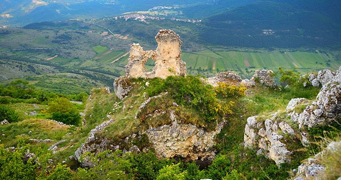 Rocca Calascio Fortress, Abruzzo, Italy by MNStudio, Dreamstime