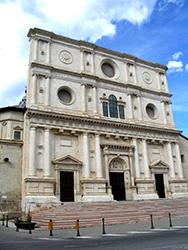 Basilica of San Bernardino, L'Aquila, Attilios/Wikimedia Commons