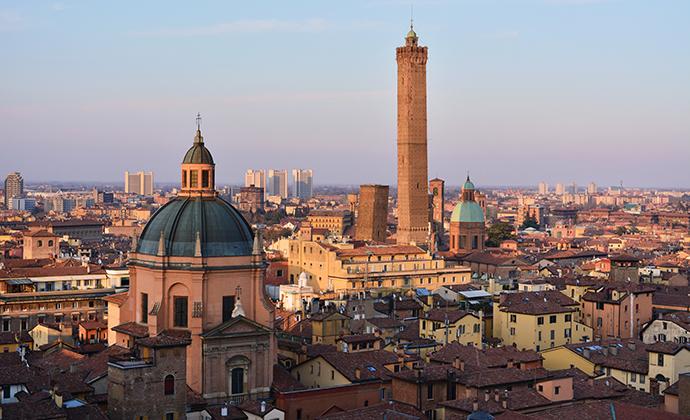 Bologna Emilia-Romagna Italy by Gaia Ciolli, Shutterstock