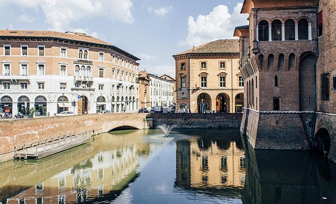 Castello Estense Ferrara Emilia-Romagna Italy by Emilia-Romagna Tourist Board