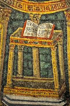 Neonian Baptistery at Ravenna Emilia-Romagna Italy by mountainpix