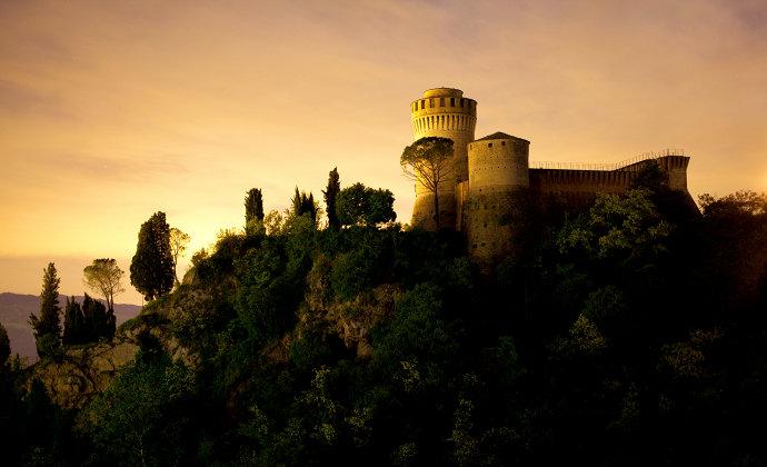 Rocca di Brisighella Emilia-Romagna Italy by CC-BY-SA Umberto PaganiniPaganelli