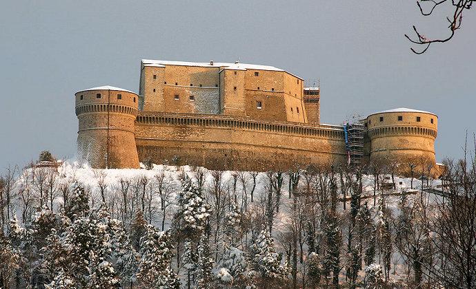 Rocca di San Leo Emilia-Romagna Italy by CC-BY-SA JialiangGao