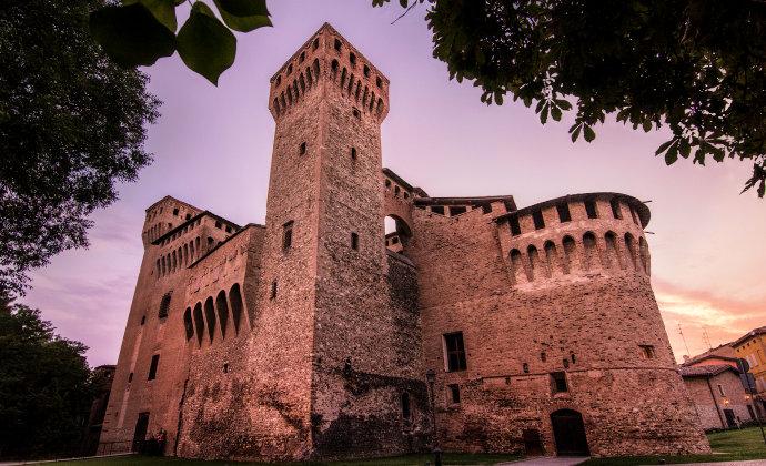 Rocca di Vignola Emilia-Romagna Italy by CC-BY-SA Lara Zanarini