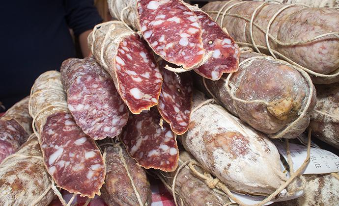 Salami Emilia-Romagna Italy by Francesco de Marco, Shutterstock