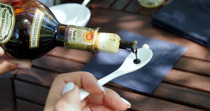 Balsamic vinegar Emilia-Romagna Italy by CC-BY CCFoodTravel.com