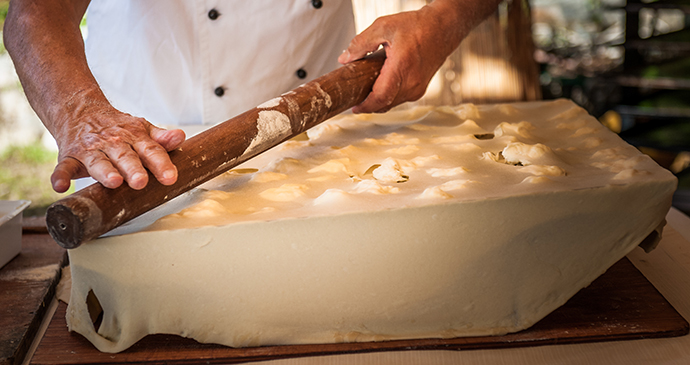 Focaccia, Liguria, Italy by Lullaby7, Shutterstock