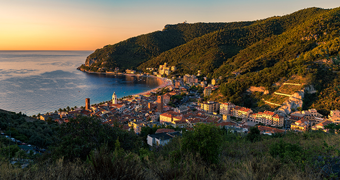 Beach, Noli, Liguria by Job Pagaduan Shutterstock