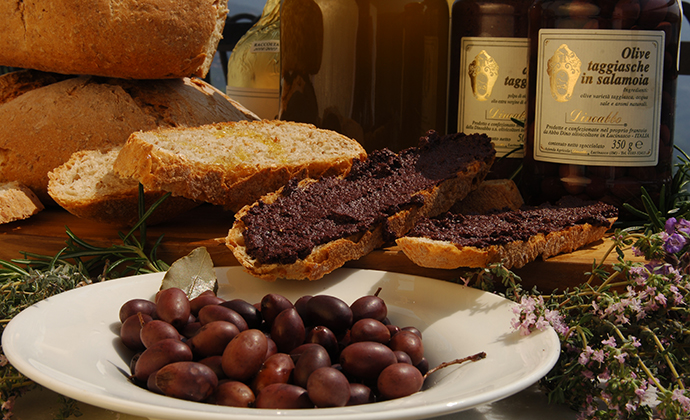 Olives, Liguria, Italy by Photo Archive Regional Agency in Liguria