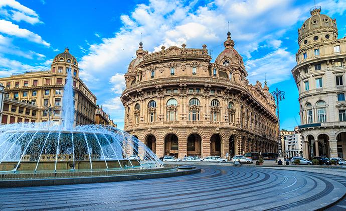 Piazza de Ferrari, Genoa, Liguria, Italy by Garsya, Shutterstock