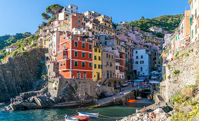 Riomaggiore, Liguria, Italy by IulilaSlyshko, Shutterstock
