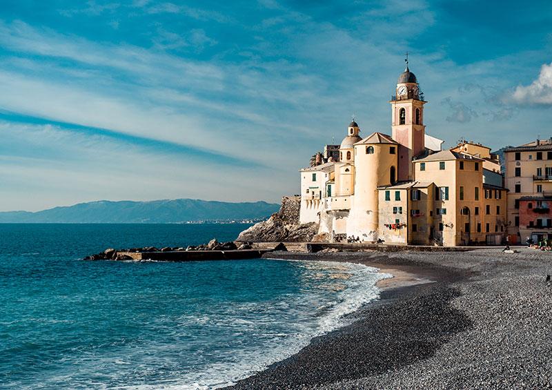 Camogli, Liguria, Italy by Alexander Zihonov, Shutterstock