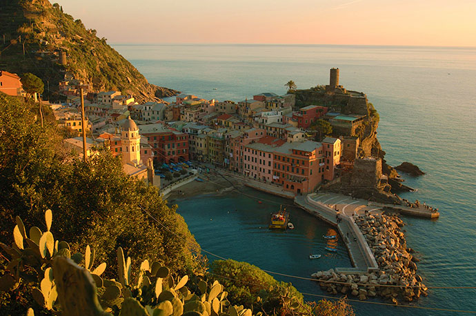 Cinque Terre, Liguria, Italy by Rosie Whitehouse
