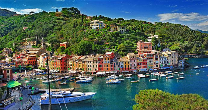 Portofino Liguria Italy leoks Shutterstock