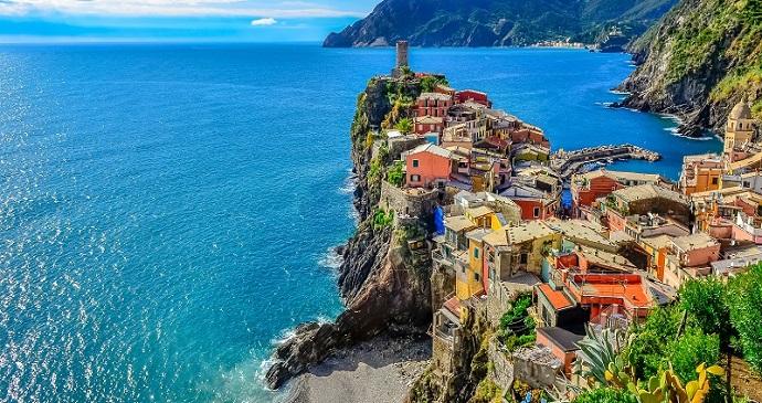 Vernazza Liguria Italy Cinque Terre by Martin M303 Shutterstock