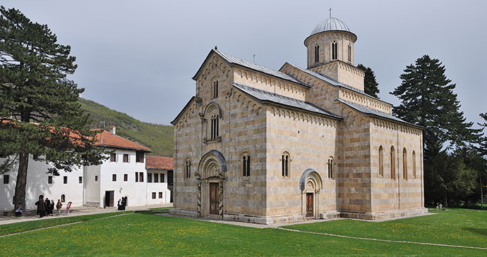 Visoki Dečani Monastery, Kosovo by Ivan S Abrams