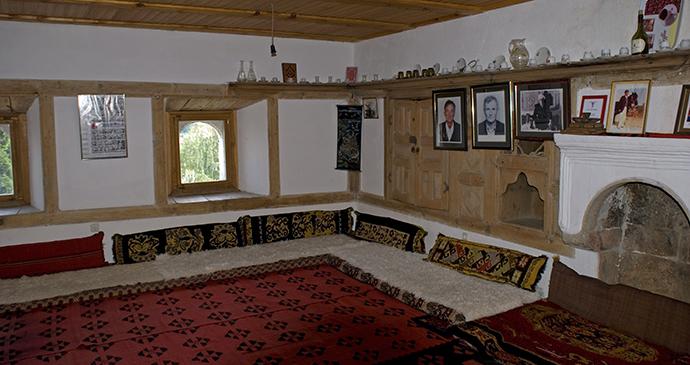Kulla arcitechture, Isniq, Kosovo, Attilla JANDI, Shutterstock