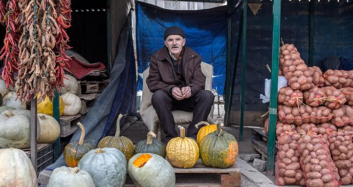 Market Seller, Gnjilane, Kosovo by BalkansCat, Shutterstock