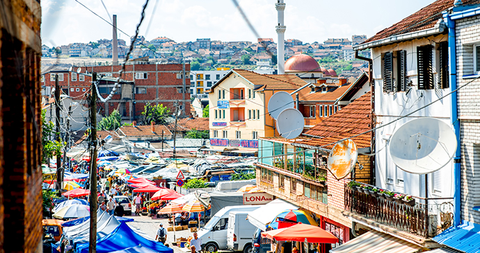 Market street Prishtina Kosovo RossHelen, Shutterstock