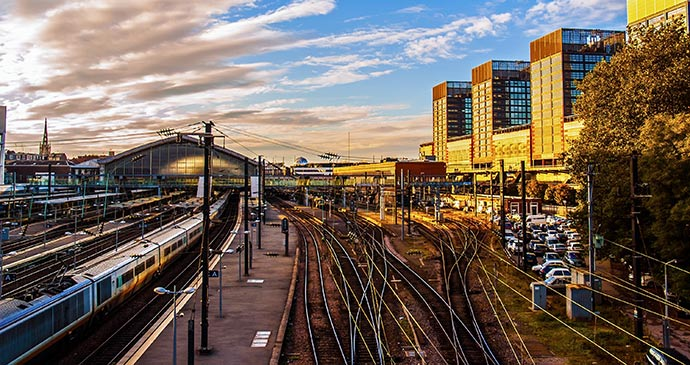 Gare Lille Europe Lille France by Meiqianbao Shutterstock