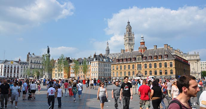 Grand' Place Lille by Nord Tourism