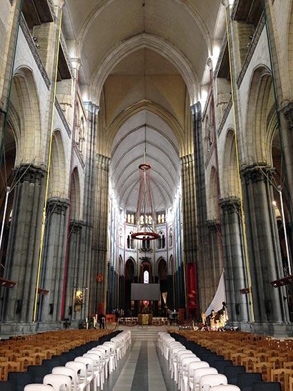 Notre Dame de la Treille Cathedral Lille France © Mark Swinburne