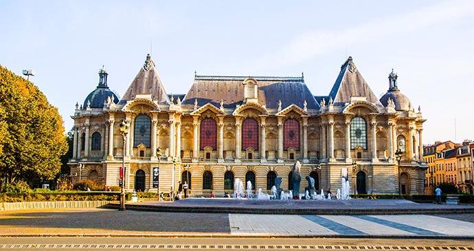 Palais des Beaux Arts Lille France by Meiqianbao Shutterstock
