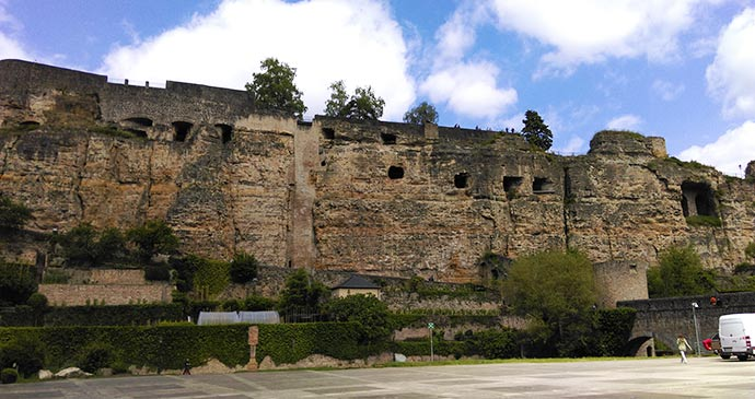 Bock casemates Luxembourg City by Laura Pidgley