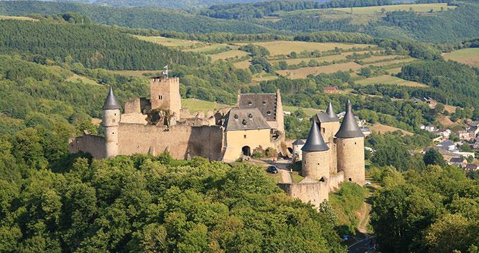 Bourscheid Castle Luxembourg Europe by LENS-68, Shutterstock