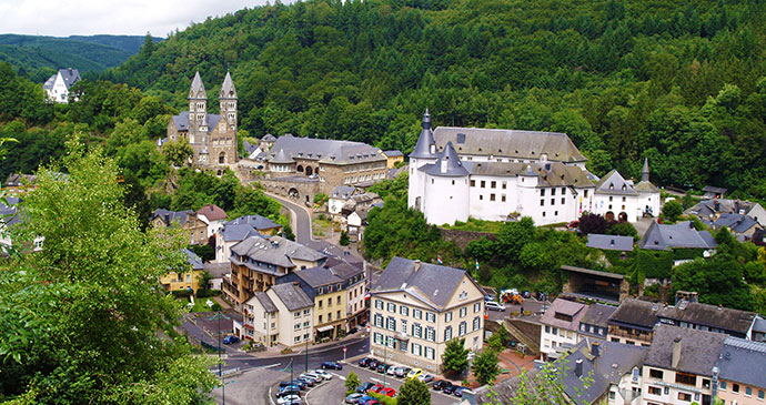 Clervaux Luxembourg Europe by Tim Skelton