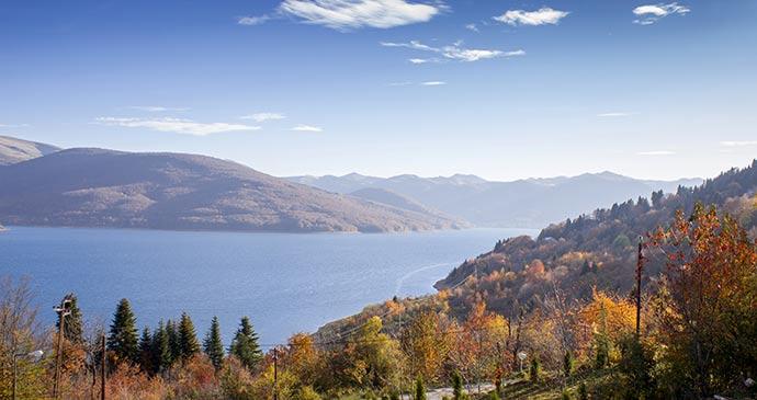 Mavrovo North Macedonia by BrankoG Shutterstock