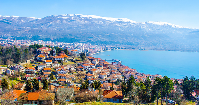 Lake Ohrid North Macedonia by trabantos Shutterstock