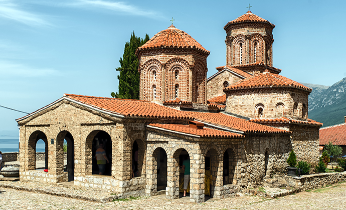Sv Naum Monastery North Macedonia by Atosan Shutterstock