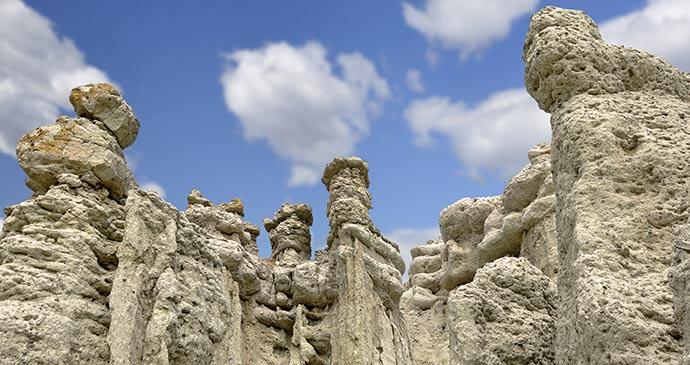 Stone dolls near Kratovo Macedonia Predrag Vasilevski Shutterstcok