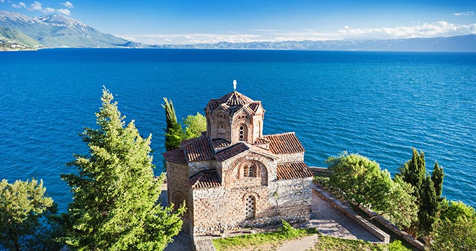 Lake Ohrid North Macedonia by saiko3p Shutterstock