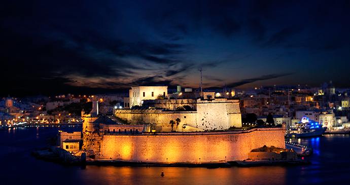 Fort St Angelo Valletta Malta by www.viewingmalta.com